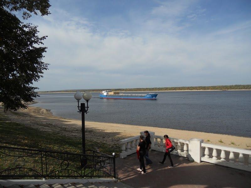 Набережная / Quay, Мариинский Посад