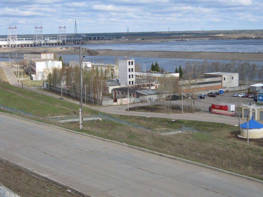 Вид на набережную  /  View on quay, Новочебоксарск