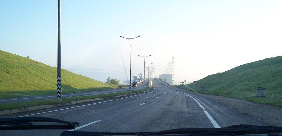 дорога через гэс, Новочебоксарск
