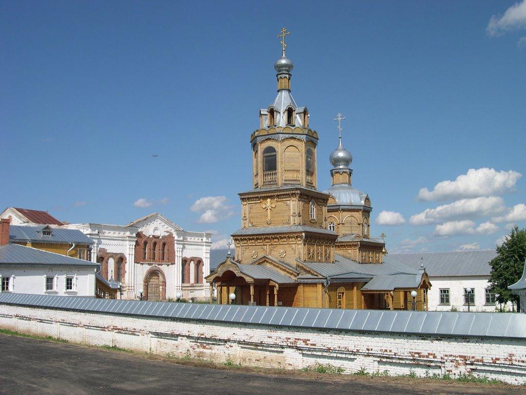 Monastery, Цивильск