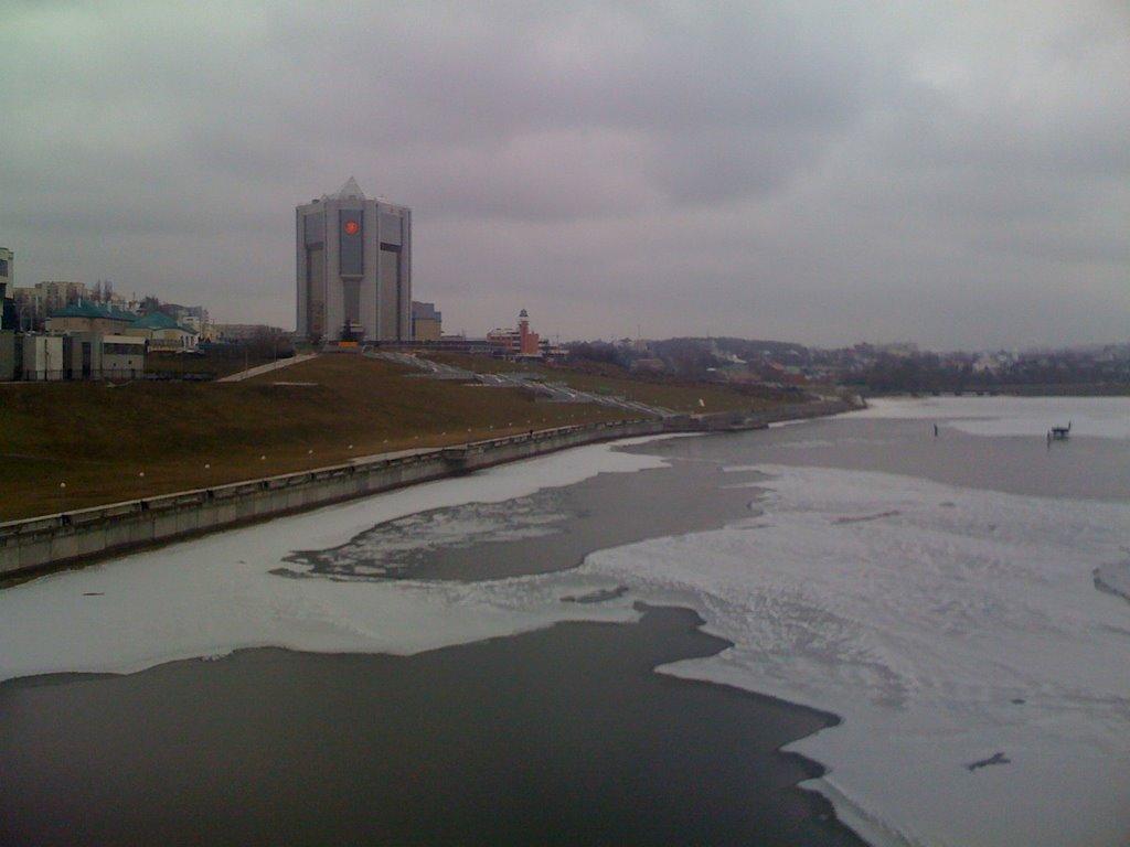 вид с Московского моста, Чебоксары