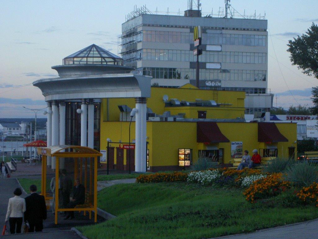 The Golden Arches in Cheboksary, Чебоксары