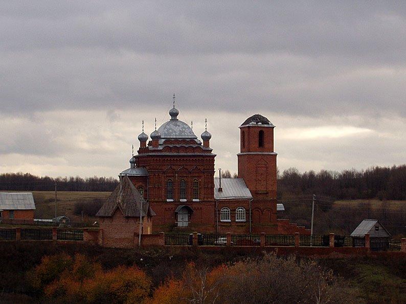 Монастырь в Комаровке, Шемурша