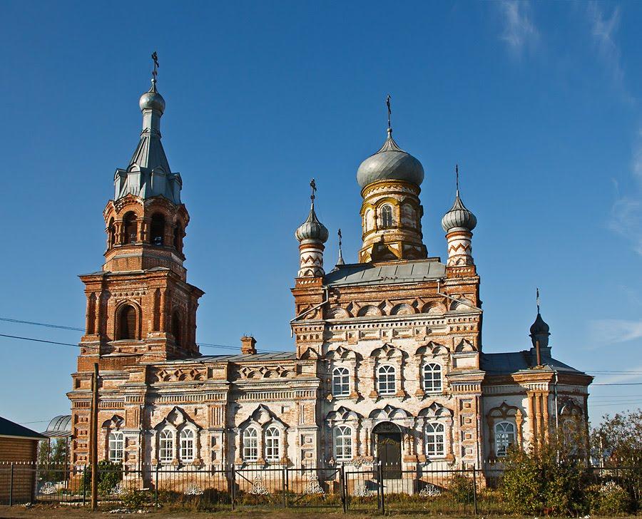 Храм в с.Карлинское, Шемурша
