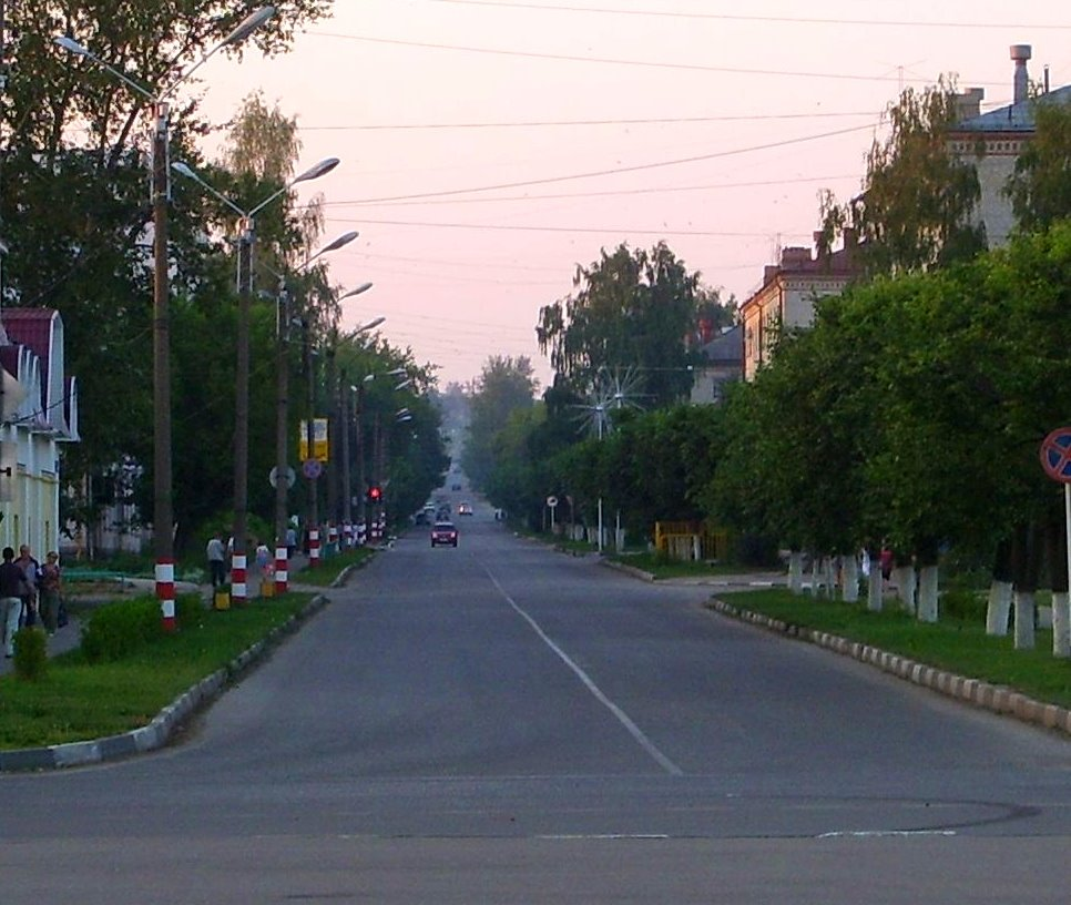 Улица Октябрьская, Шумерля