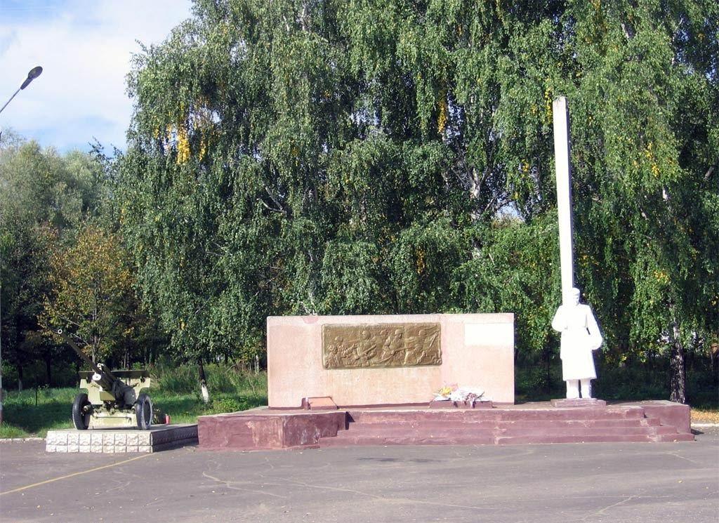 Забытый памятник незабытой войны.Команда Богатыри, Шумерля