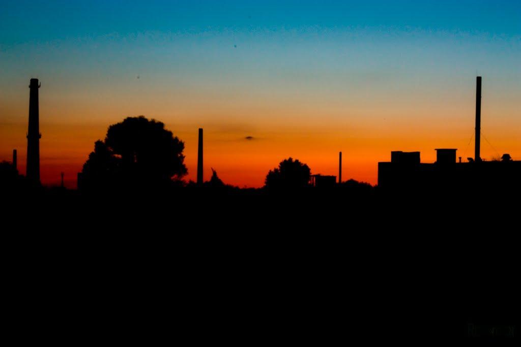 Закат над промзоной, Шумерля