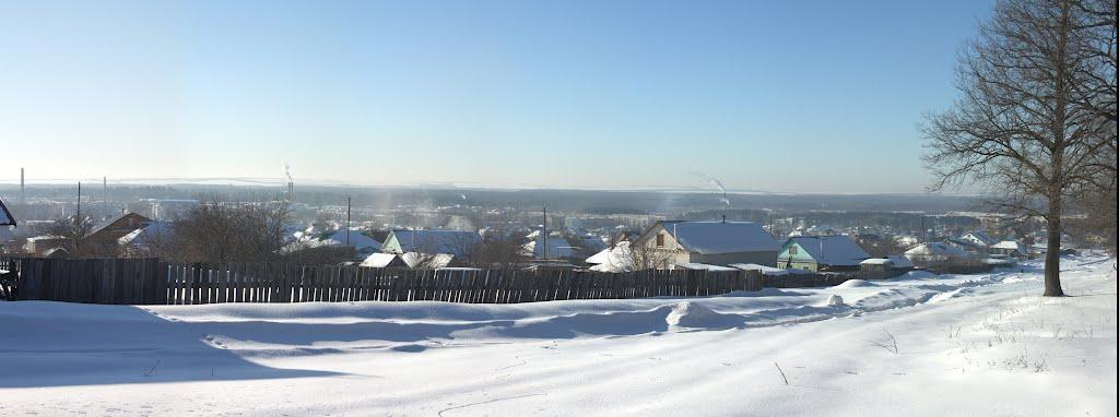 Зимняя панорама города, Шумерля