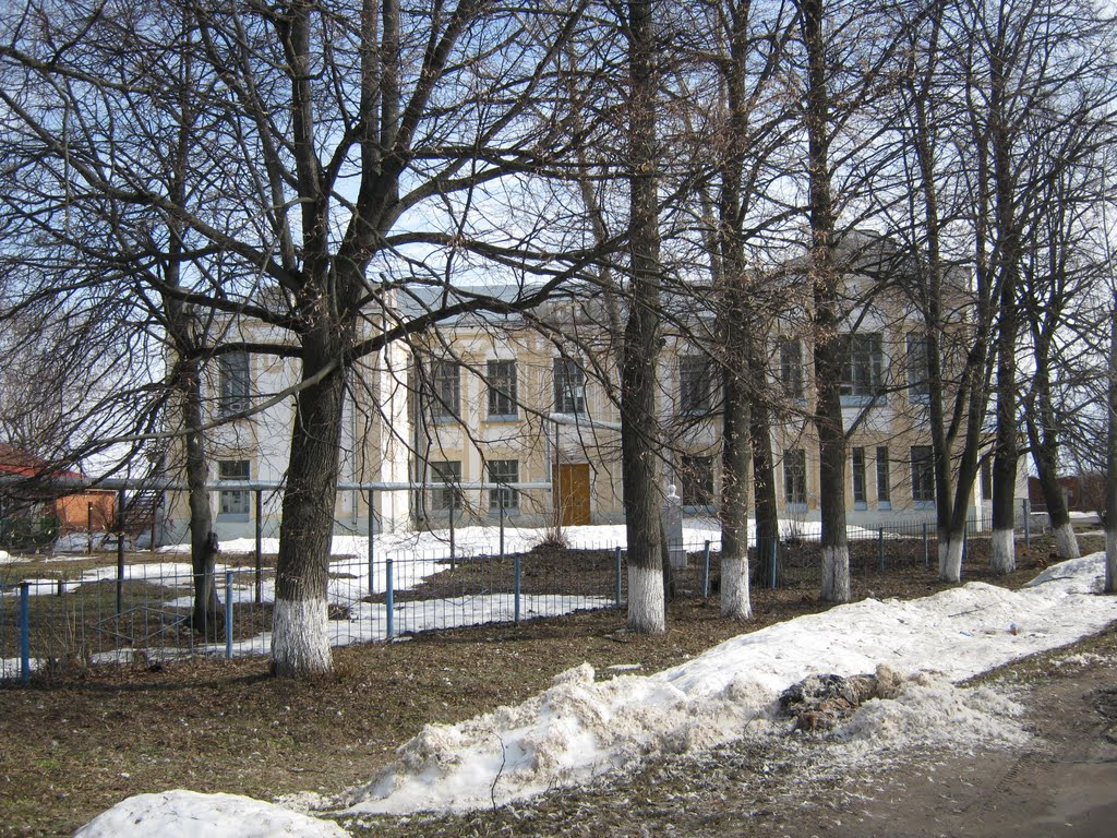 Здание бывшей женской прогимназии  /  Building of the former female progymnasium, Ядрин