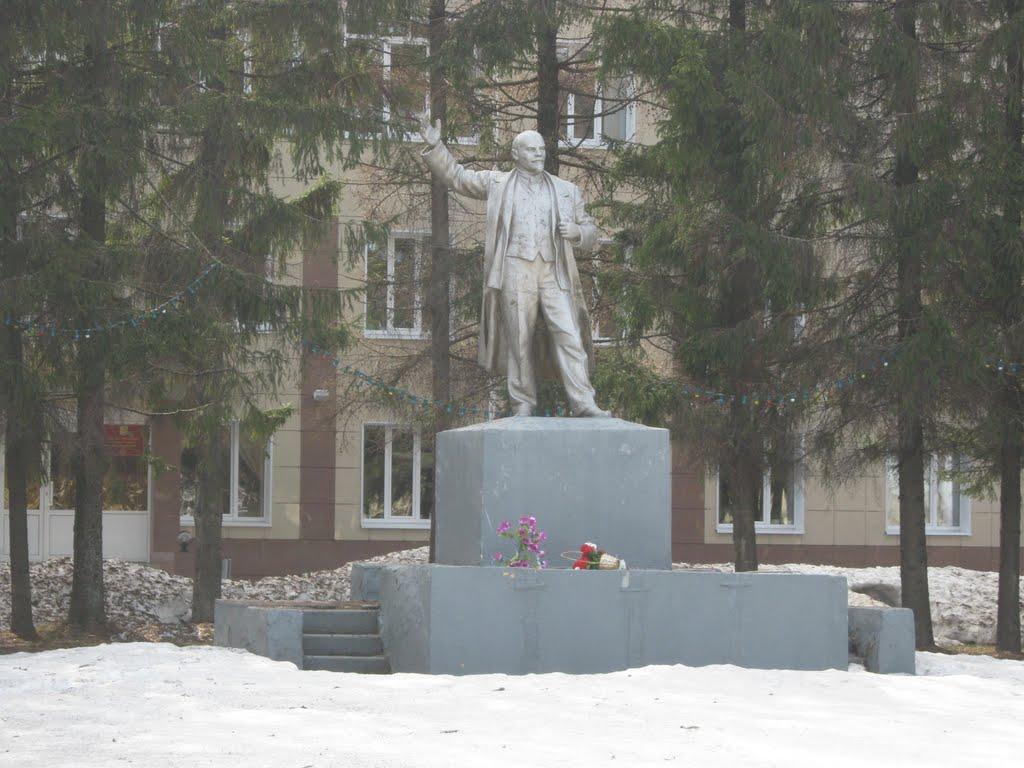 Памятник Ленину  /  Lenin Monument, Ядрин