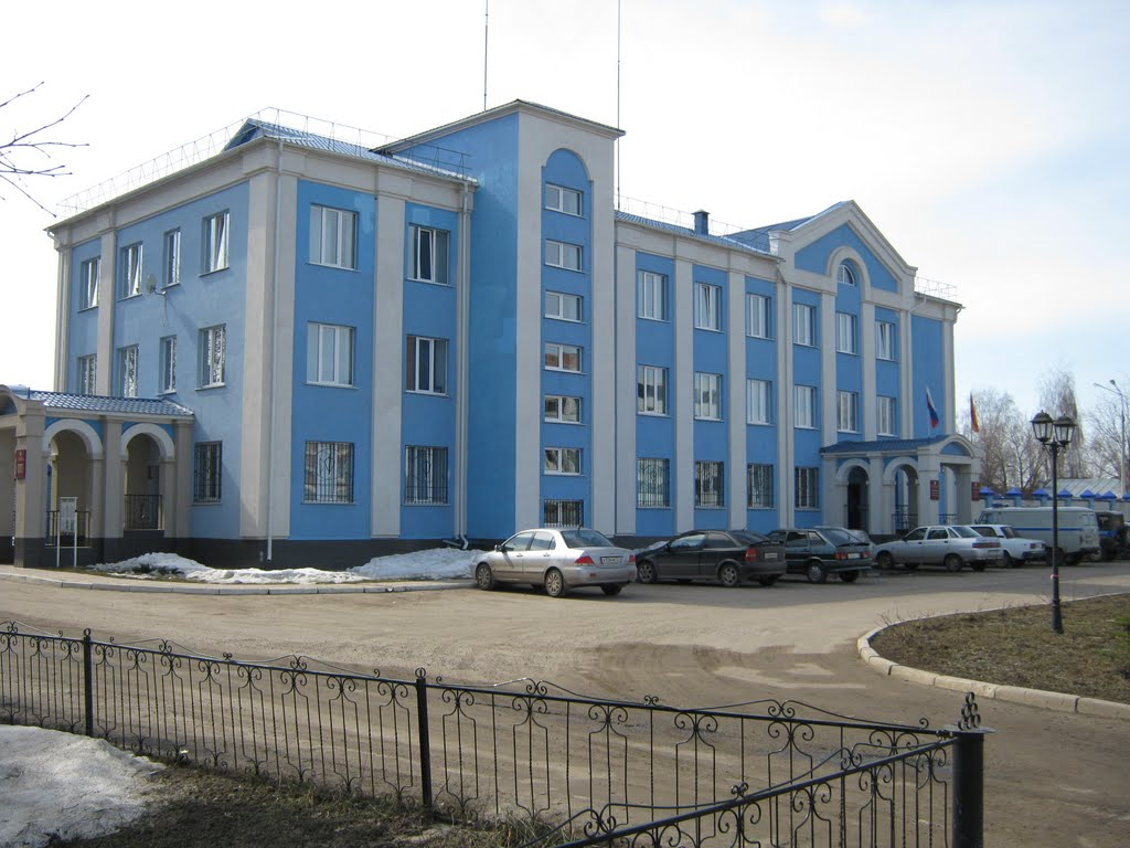 Здание силовых ведомств  /  The building of law enforcement agencies, Ядрин