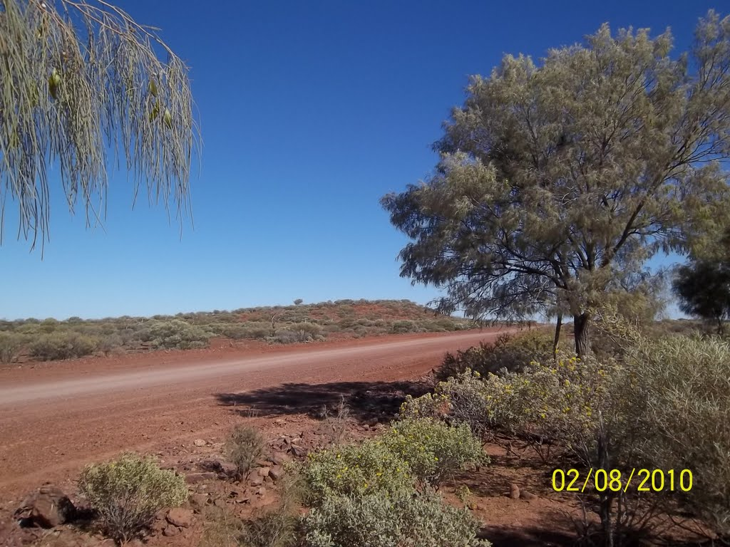 A nice spot to stop for a rest along the Carnegie Road, WA 2010, Бунбури