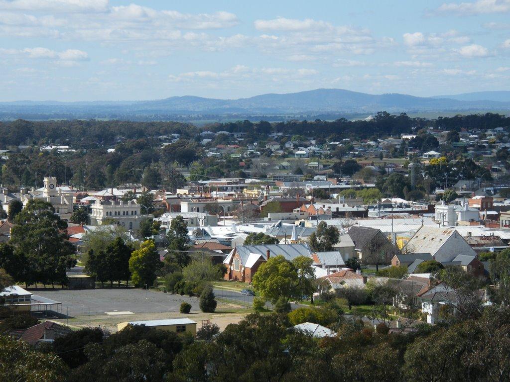 View from Pioneer Memorial Lookout - Maryborough, Мариборо