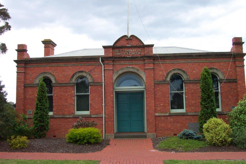 Mechanics Institute, Мелтон