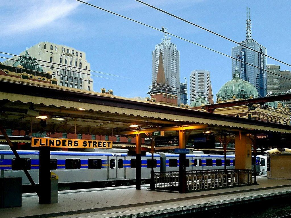Flinders Street Station copia, Мельбурн
