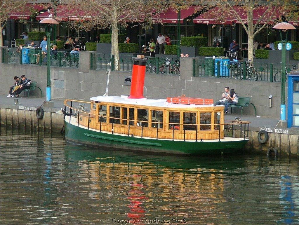 Pleasure boat, Мельбурн