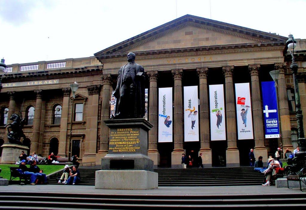 sir Redmund Barry (state library of victoria), Мельбурн