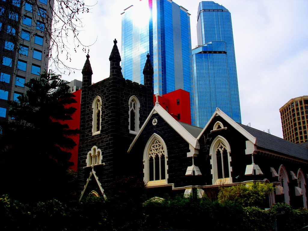 OLD CHURCH IN MELBOURNE, Мельбурн