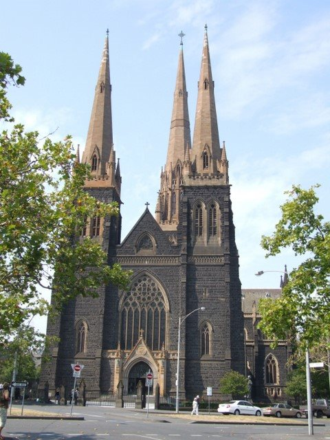 0354 Melbourne, St. Patricks Cathedral, Мельбурн
