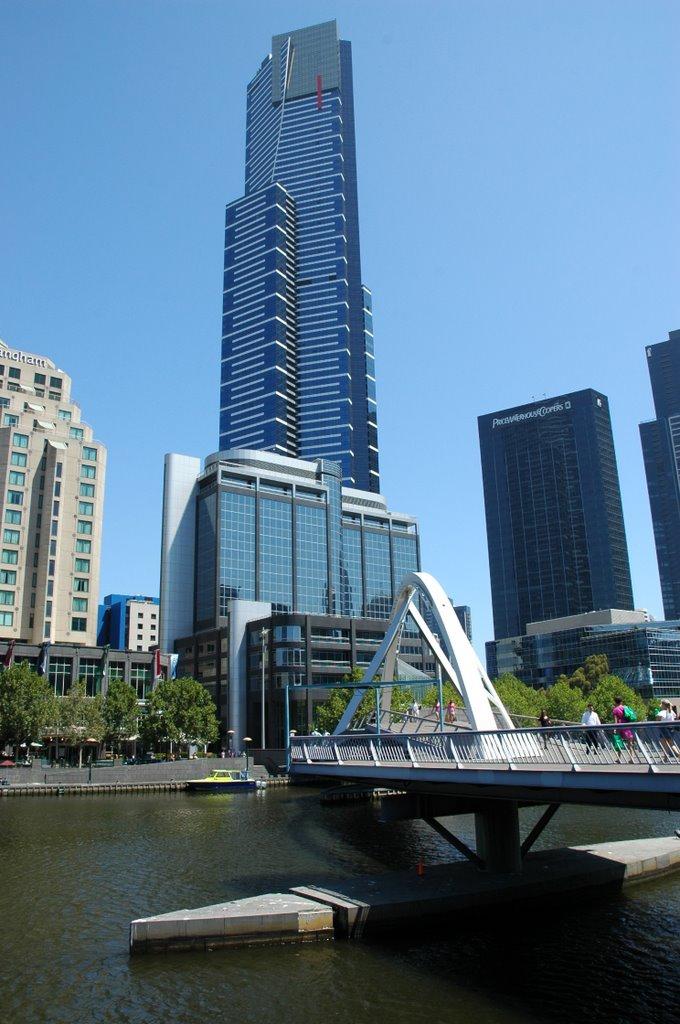 Eureka Tower, Мельбурн
