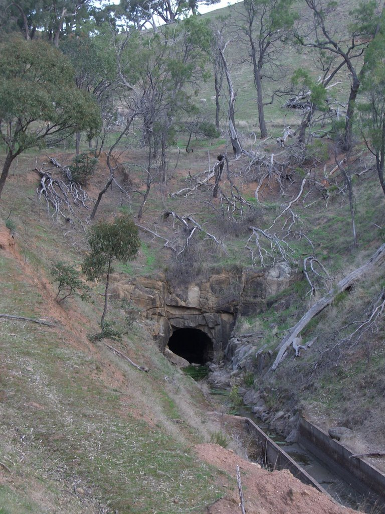 Brennans Tunnel, Coliban Main Channel, Милдура