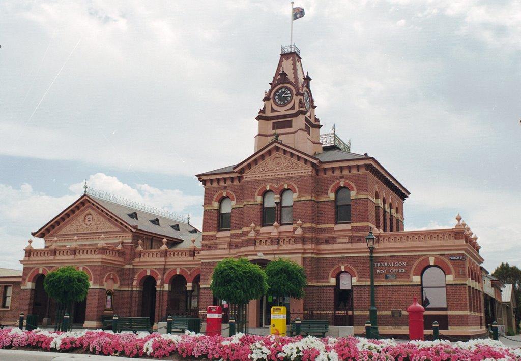 Australia,Victoria,Traralgon, Postoffice, Court House, Траралгон