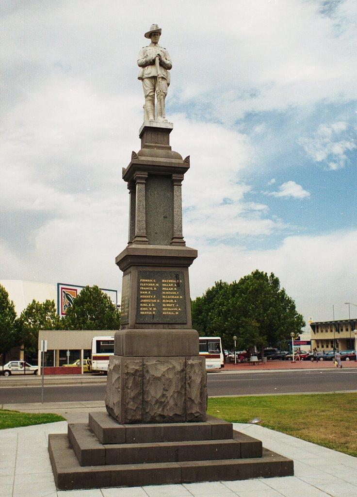 Traralgon, War Memorial, Траралгон