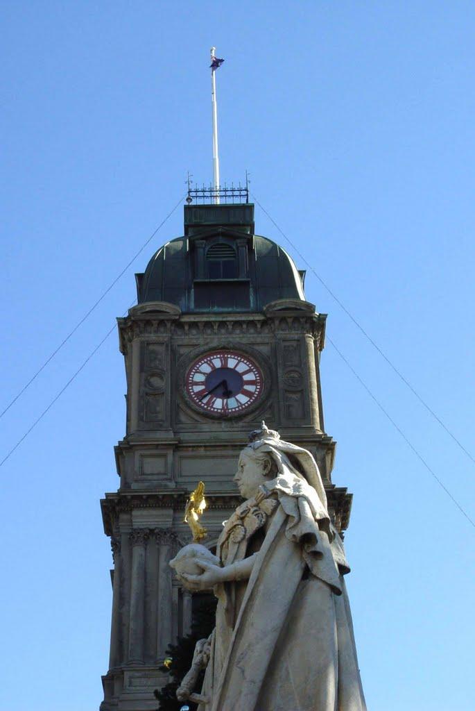 Queen Victoria, Балларат
