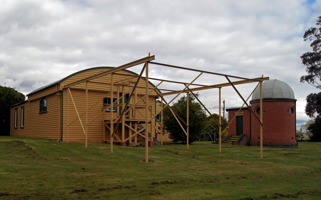 Ballarat Observatory (2011). When James Oddie presented this Observatory to the people of Ballarat in 1886, it became the first municipal observatory in Australia, Балларат