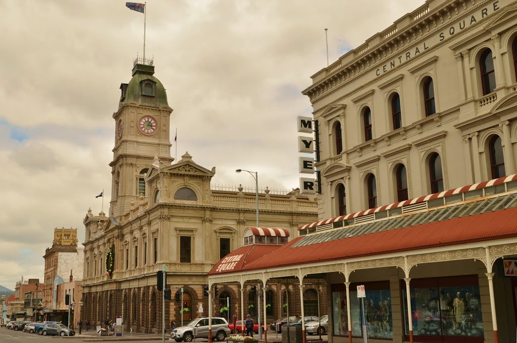 Ballarat Town Hall (Australie), Балларат