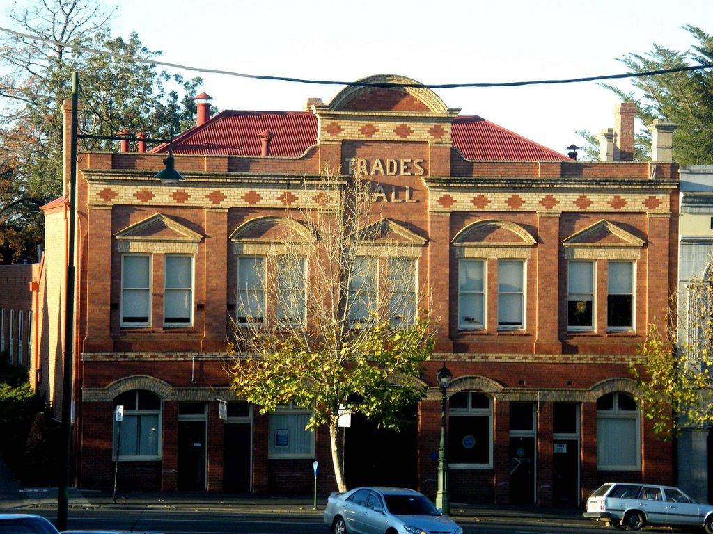 Trades Hall, Бендиго