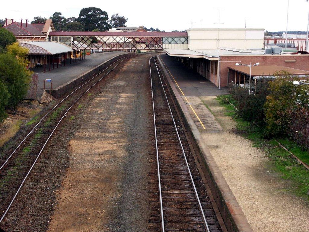 Bendigo Railway Station - 2004, Бендиго