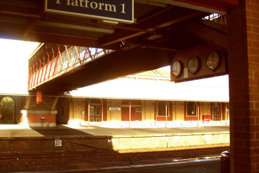 Railway Station - Bendigo, Victoria, Бендиго