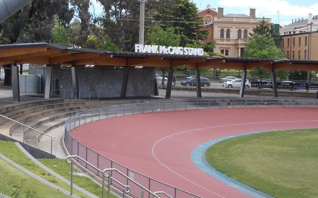 Velodrome with Frank McCaig Stand, Бендиго