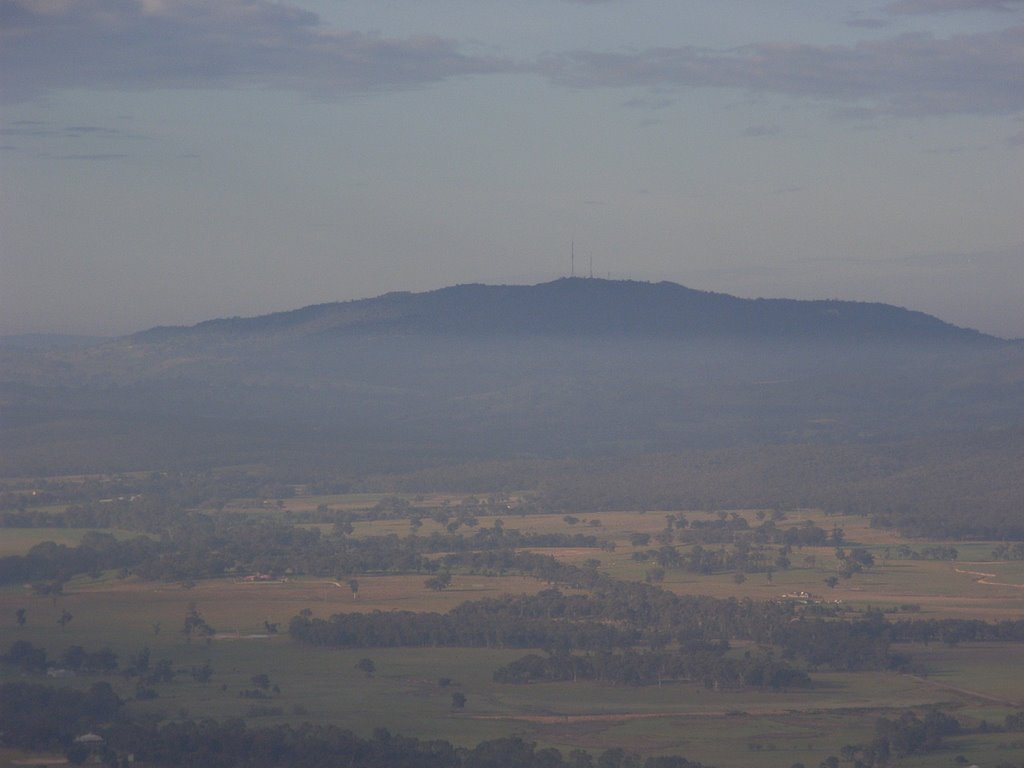 Mount Alexander from Axe Creek, Водонга