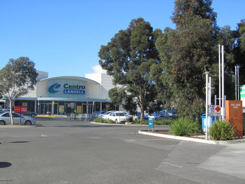 Centro Lansell Shopping Center, Bendigo, Australia - 2010., Водонга