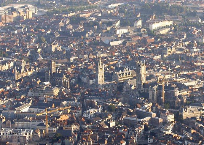 Gent 3 towers, Гент