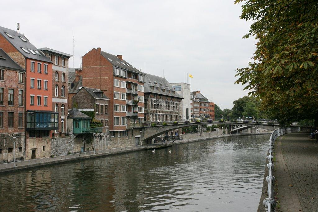 Namur, Sambre, Намюр