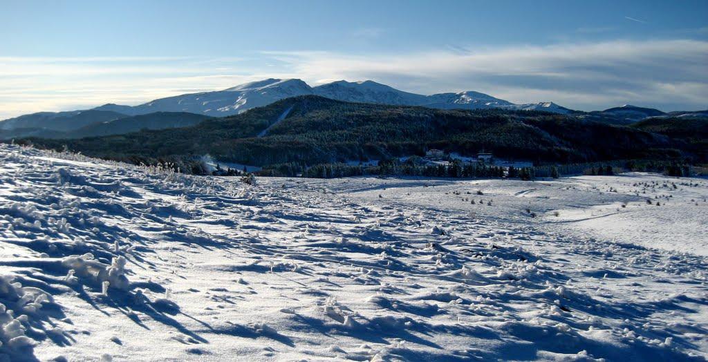 Winter view, Михайловград