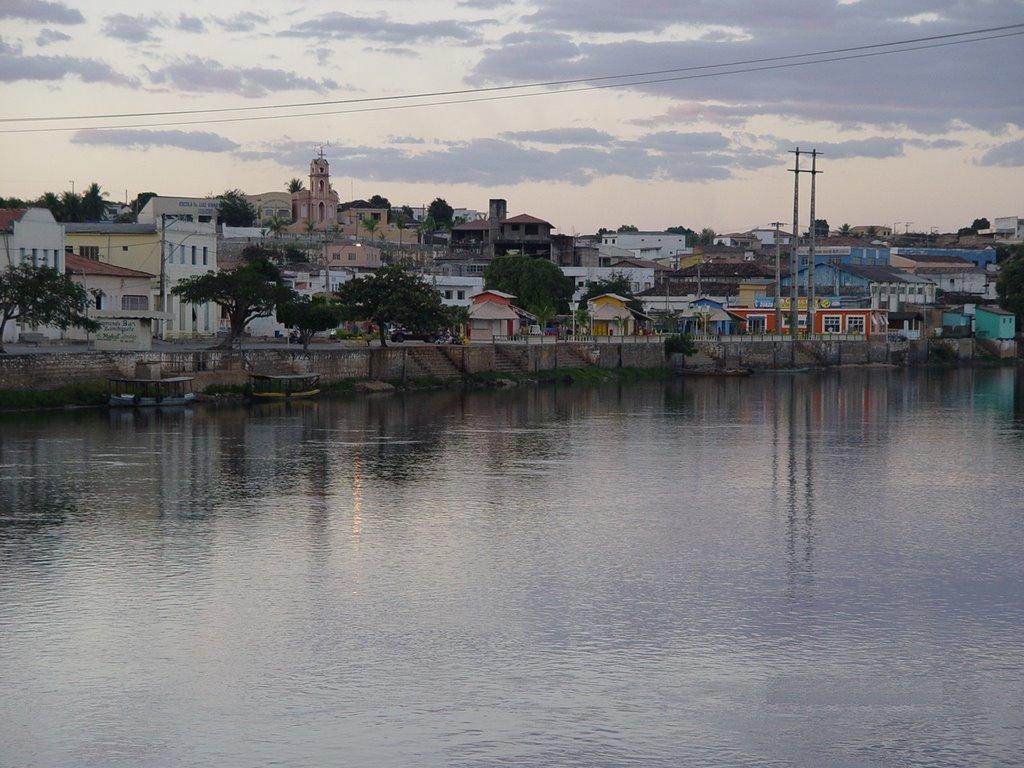 Corrente River and Sta Maria da Vitoria   #sc, Санта-Мария