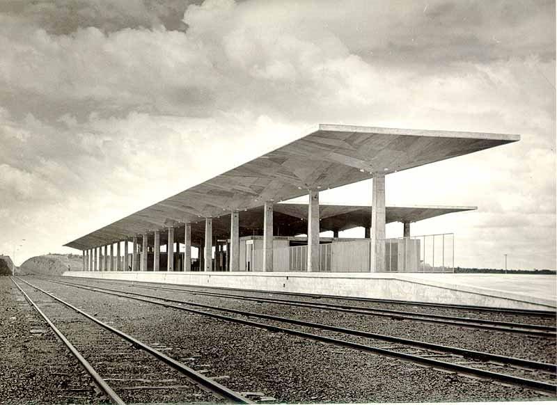 Antiga estação ferroviária, Сан-Жоау-дель-Рей