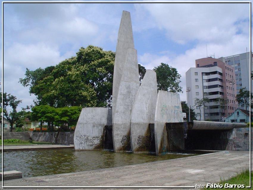 Praça 29 de Março - Foto: Fábio Barros  (www.cidade3d.uniblog.com.br), Куритиба