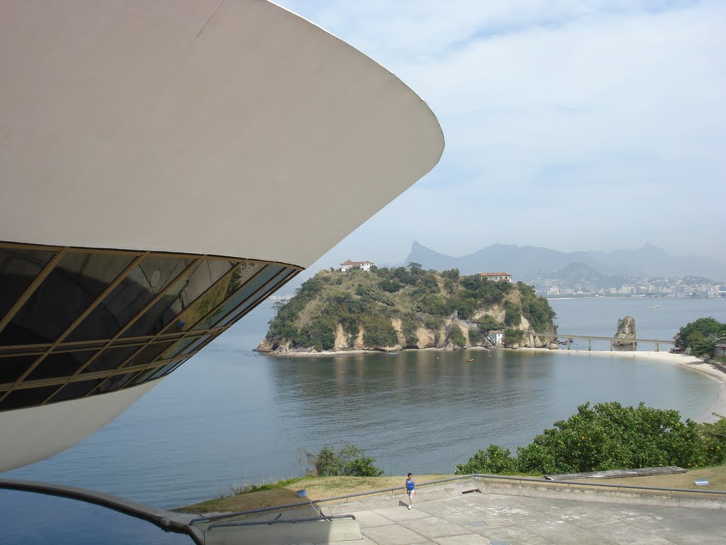 Guanabara Bay and Niemeyer Museum, Нитерои