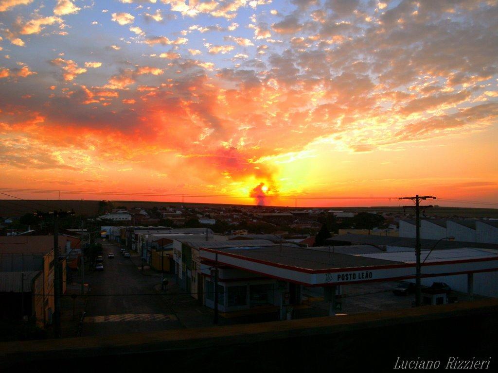 Sunset em Jaú sp -Foto:Luciano Rizzieri, Жау
