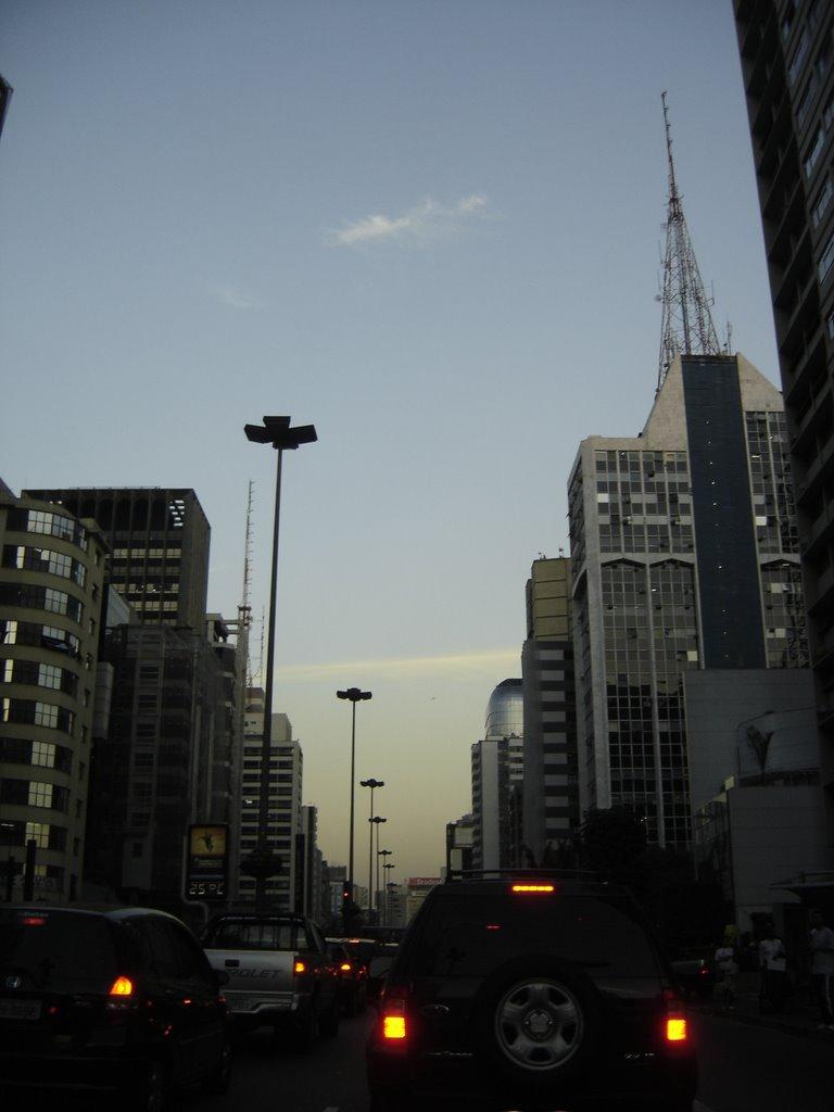 Av. Paulista, São Paulo, Brasil., Сан-Бернардо-ду-Кампу