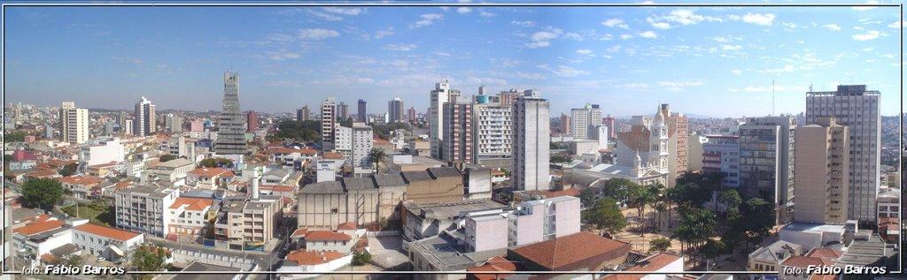 Panorâmica de Sorocaba  - Foto Fábio Barros (www.cidade3d.uniblog.com.br), Сорокаба