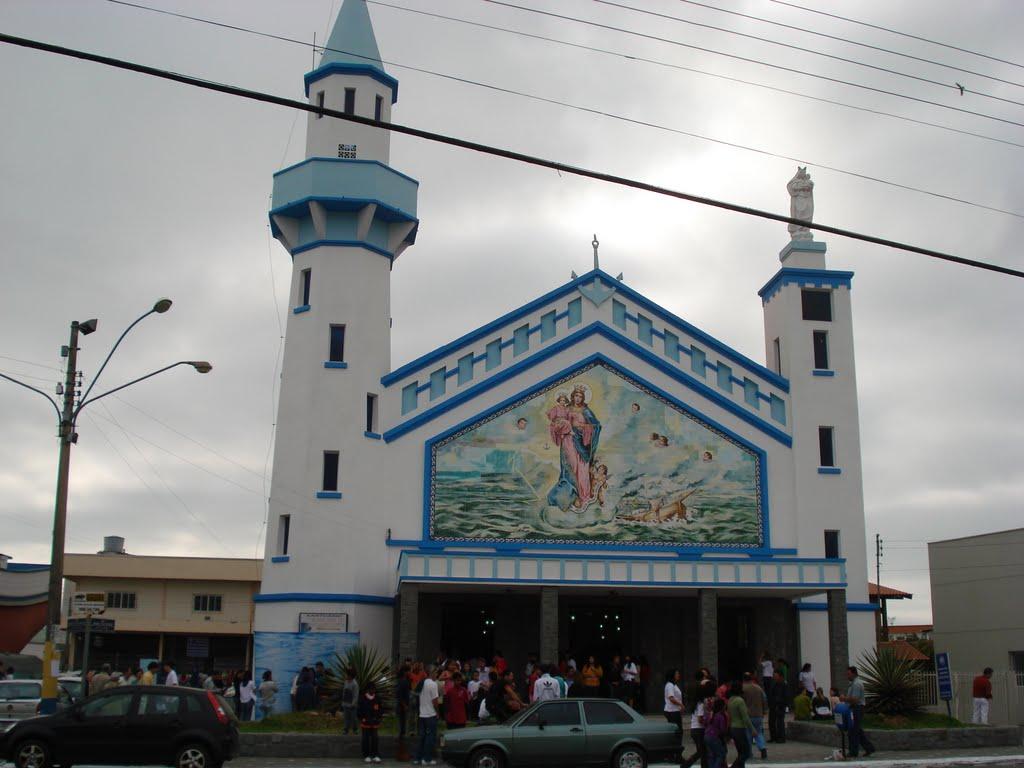 Igreja(Church) N.S.dos Navegantes, no municipio de Navegantes (SC)., Итажаи