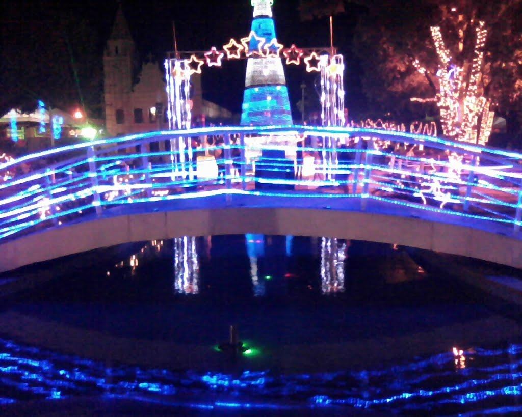 Praça da Matriz , Natal de Luz  em Iguatu-Ce Dezembro de 2011, Игуату
