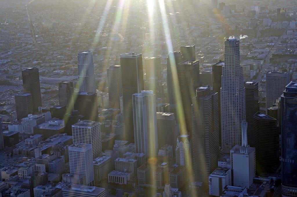 City of Angels aerial, Лос-Анджелес