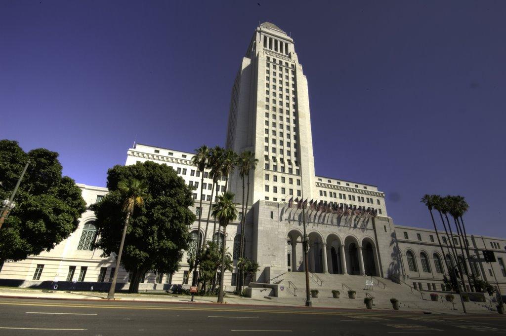LA City Hall, Лос-Анджелес